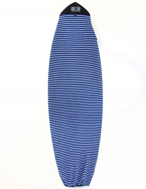 Ocean & Earth Fish Stretch Cover Surfboard bag 6ft 6 - Blue Stripe