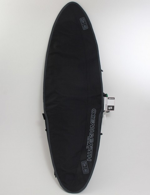 Ocean & Earth Aircon Heavyweight Fish Cover 10mm Surfboard bag 6ft 4 - Black