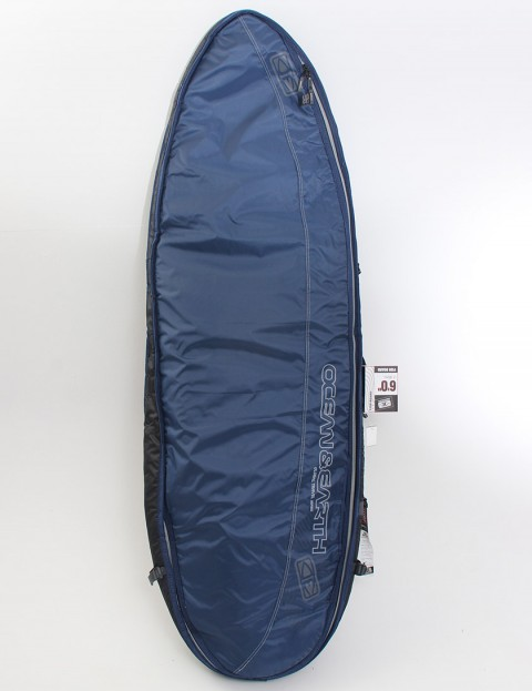 Ocean & Earth Double Wide Fish Board Cover 10mm Surfboard bag 6ft - Navy