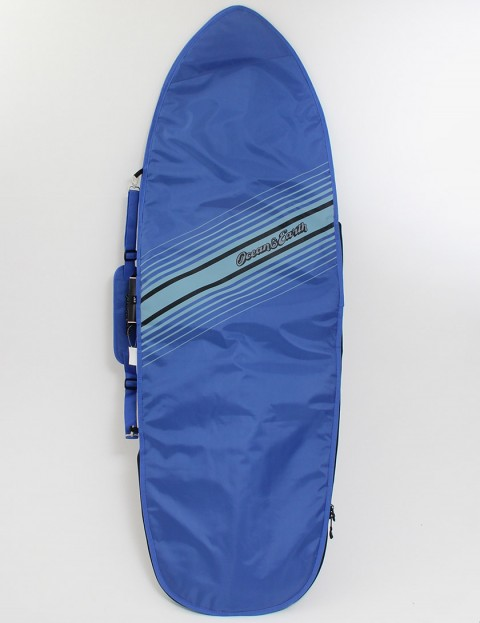 Ocean & Earth Retro Fish Cover 5mm Surfboard bag 5ft 6 - Blue