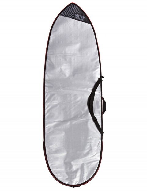 Ocean & Earth Barry Basic Fish Cover 5mm Surfboard bag 5ft 8 - Silver