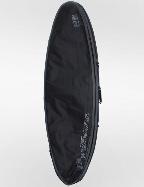 Ocean & Earth Double Compact Shortboard 10mm Surfboard bag 6ft - Black