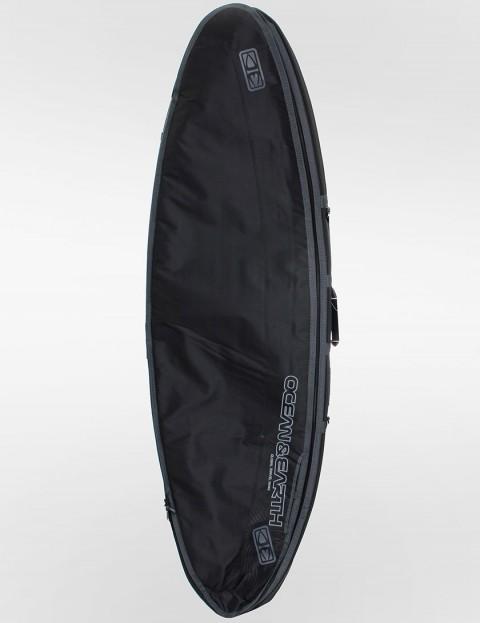 Ocean & Earth Double Compact Shortboard 10mm Surfboard bag 6ft - Black