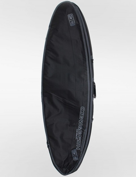 Ocean & Earth Double Compact Shortboard 10mm Surfboard bag 6ft 4 - Black