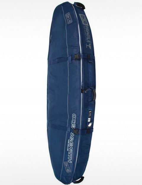 Ocean & Earth Triple Compact Shortboard 10mm Surfboard bag 6ft 4 - Navy Blue