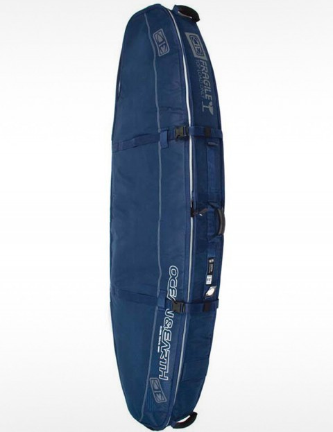 Ocean & Earth Triple Compact Shortboard 10mm Surfboard bag 6ft 8 - Navy Blue