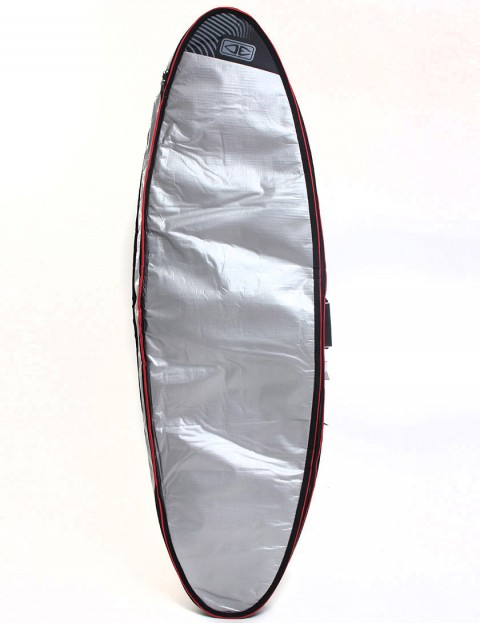 Ocean & Earth 10mm Barry Basic Double Surfboard bag 6ft - Silver