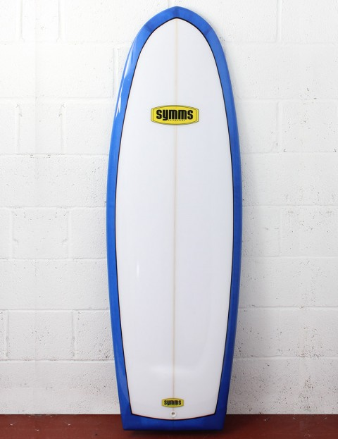 Symms Surfboards Spoon Surfboard 5ft 8 - French Blue Resin Tint