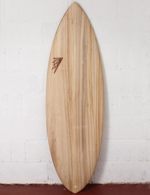 Firewire Timbertek Double Agent Surfboard 6ft FCS II - Natural Wood