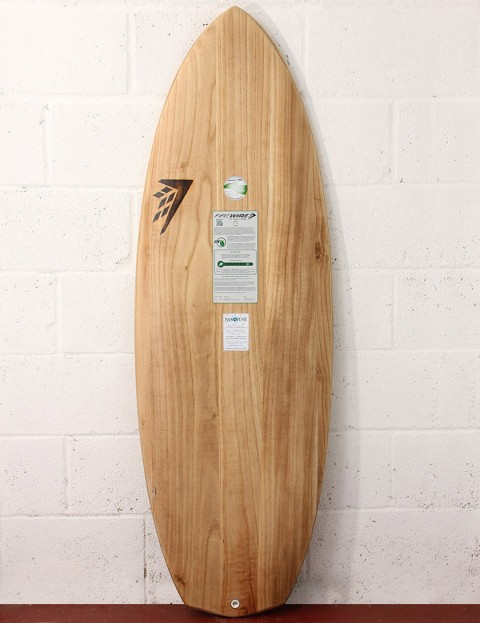 Firewire Timbertek Baked Potato Surfboard 5ft 3 Futures - Natural Wood