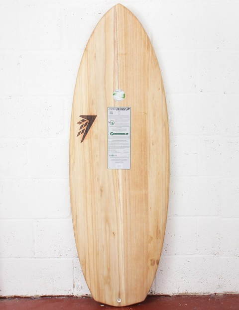 Firewire Timbertek Baked Potato Surfboard 6ft 1 FCS II - Natural Wood