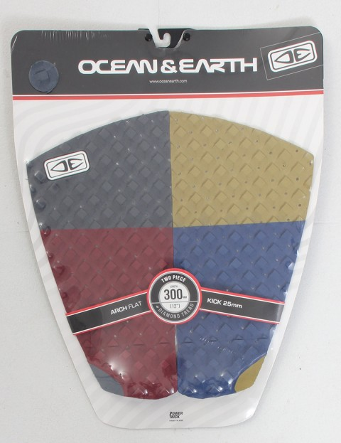 Ocean & Earth Two Piece Tail pad - Multi