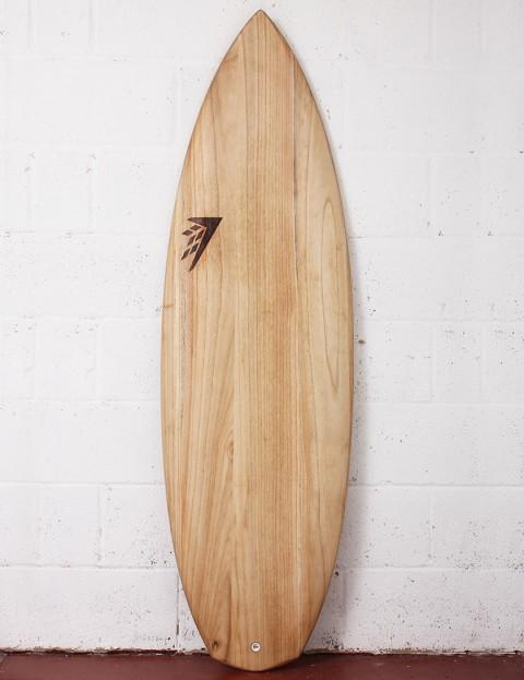 Firewire Timbertek Potato-Nator Surfboard 5ft 8 Futures - Natural Wood
