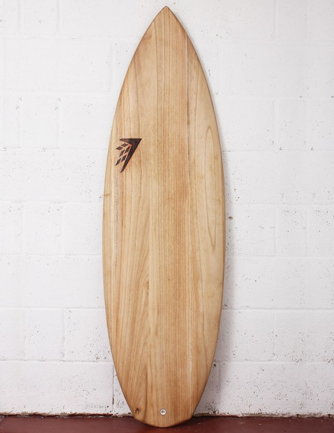 Firewire Timbertek Potato-Nator Surfboard 5ft 10 Futures - Natural Wood