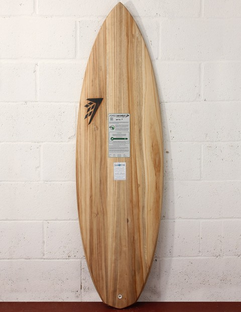 Firewire Timbertek Spitfire Surfboard 5ft 8 FCS II - Natural Wood