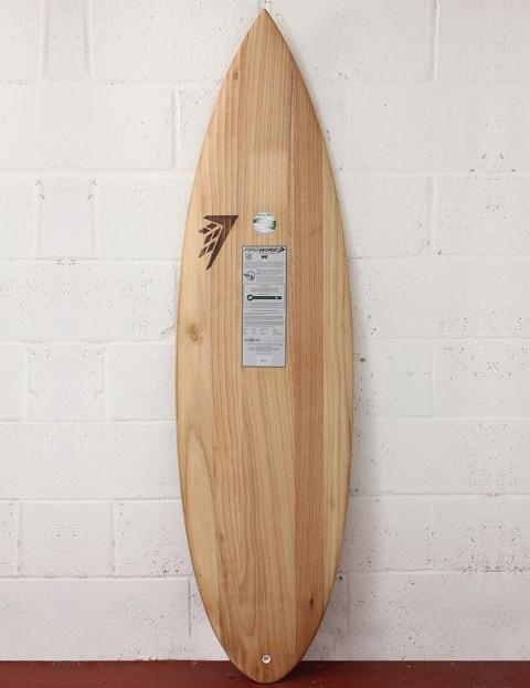 Firewire Timbertek Unibrow Surfboard 5ft 11 FCS - Natural Wood