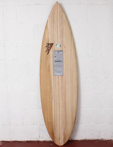 Firewire Timbertek Unibrow Surfboard 6ft 4 FCS II - Natural Wood