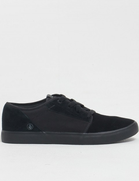 Volcom Grimm Shoe - Black on Black