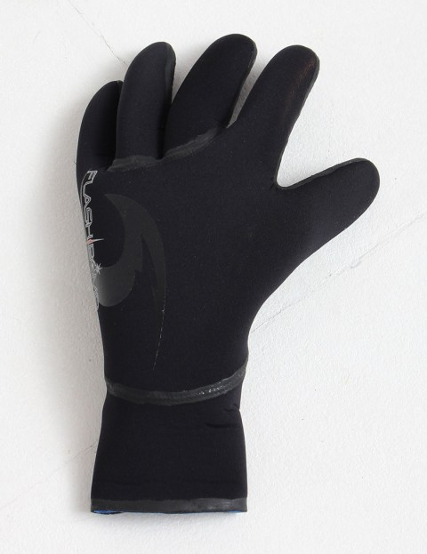 Rip Curl Wetsuits FlashBomb 5 Finger 5/3mm Wetsuit gloves - Black