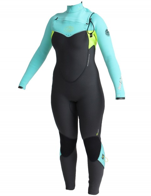 Rip Curl Wetsuits Flash Bomb Chest Zip 5/3mm Ladies Winter 2014/15 - Turquoise