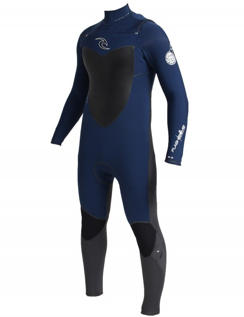Rip Curl Wetsuits Flash Bomb Chest Zip 5/3mm Winter 2014/15 - Navy