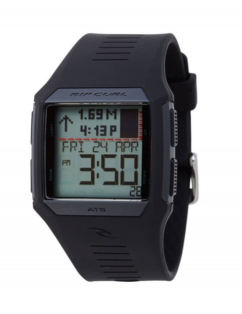 Rip Curl Rifles Tide surf watch - Black