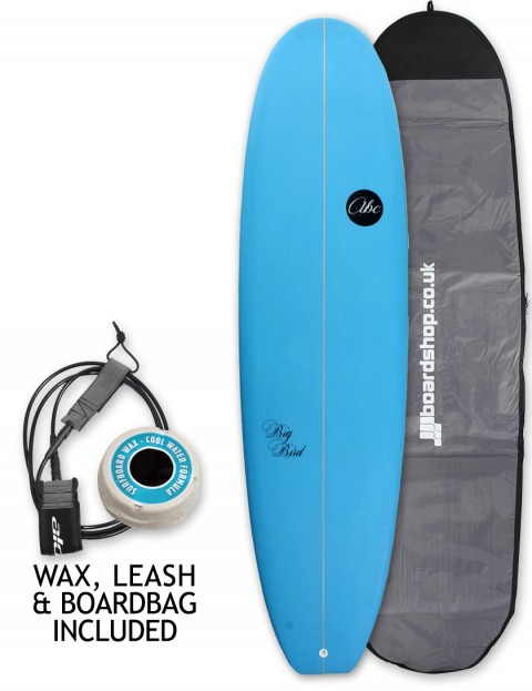 ABC Big Bird mini mal surfboard package 7ft 0 - Blue