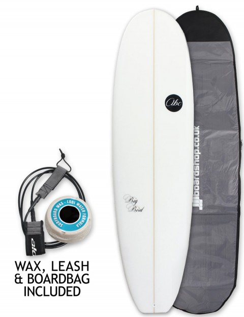 ABC Big Bird surfboard package 6ft 10 - White