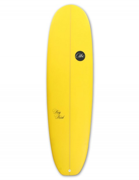 ABC Big Bird Mini Mal surfboard 7ft 4 - Yellow