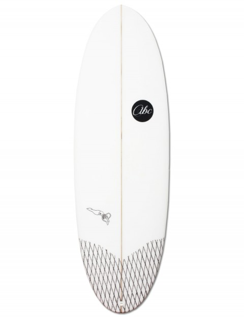 ABC Fire Squid surfboard 5ft 7 - White