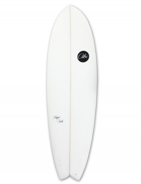ABC Super Fish surfboard 6ft 3 - White