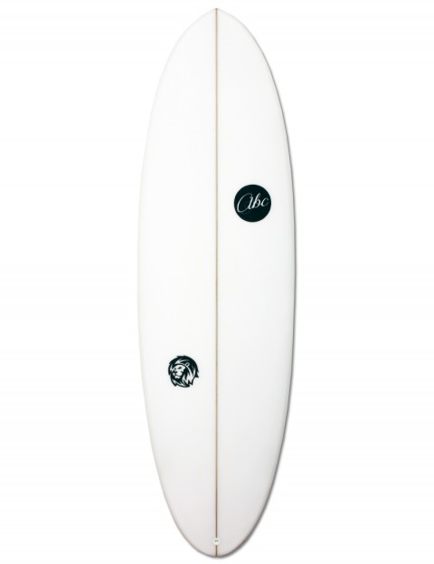 ABC Wild Cat shortboard surfboard 5ft 7 - White