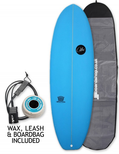 ABC Mash King surfboard package 6ft 2 - Blue