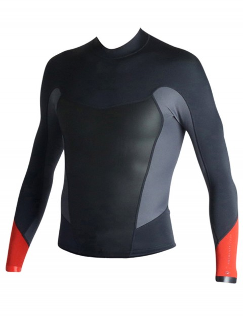 Billabong Absolute 2mm wetsuit jacket 2017 - Orange