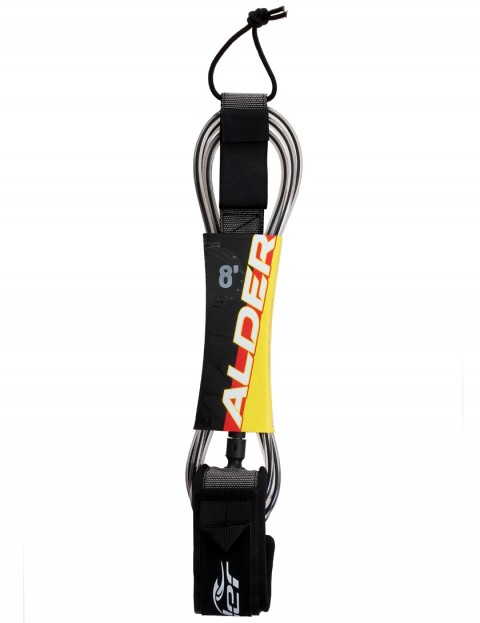 Alder Ultra Surf surfboard leash 8ft - Black