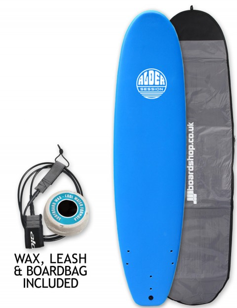 Alder Session Soft/Hard Surfboard Package 8ft 0 - Blue