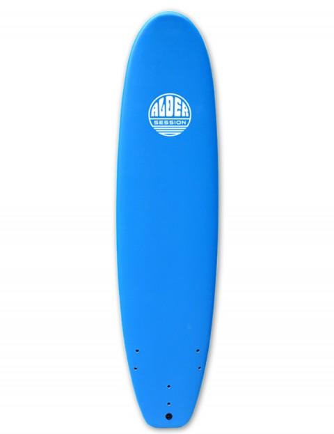 Alder Session Soft/Hard Mini Mal Surfboard 7ft 6 - Blue
