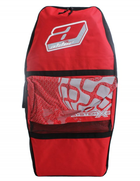 Alder System X2 44 inch Bodyboard Bag - Red/Black
