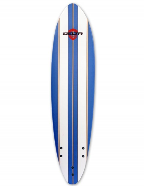 Alder Delta Stringers Soft Surfboard 6ft - Blue Stripe