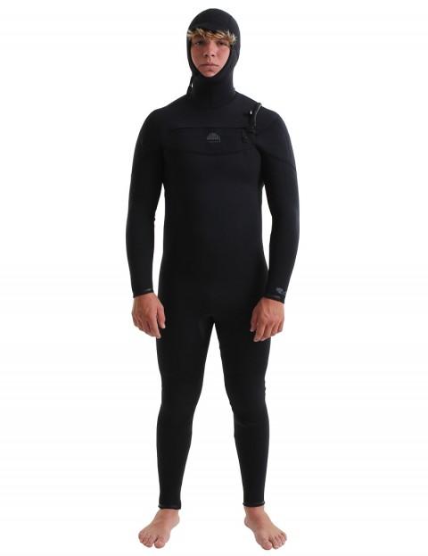 Alder Evo Fire Chest Zip 6/5/4mm Hooded Wetsuit 2019 - Black