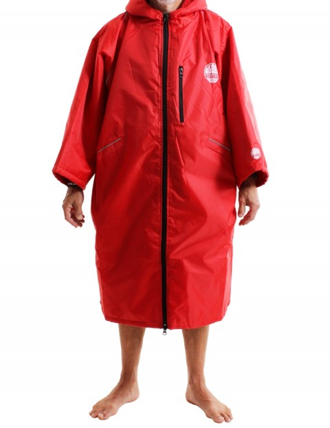 Alder Polar Coat Adult outdoor change robe - Red