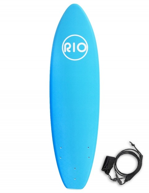 Alder Rio Foam Surfboard 6ft 0 - Blue