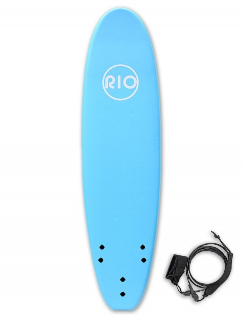 Alder Rio Soft Surfboard 7ft 0 - Blue