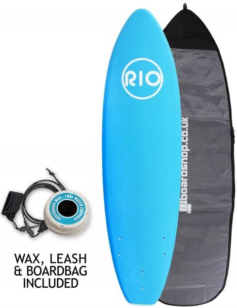 Alder Rio Soft Surfboard package 6ft 0 - Blue