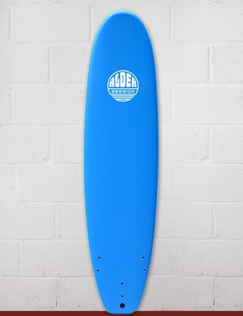 Alder Session Soft/Hard Surfboard 7ft 2 - Blue