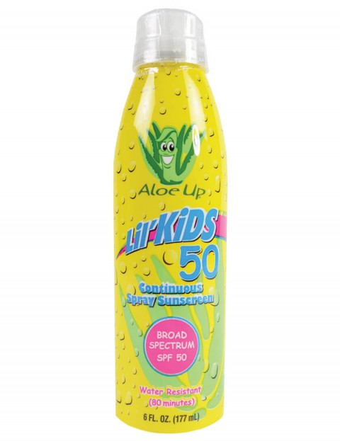 Aloe Up Lil Kids Continuous Spray SPF 50 - Misc