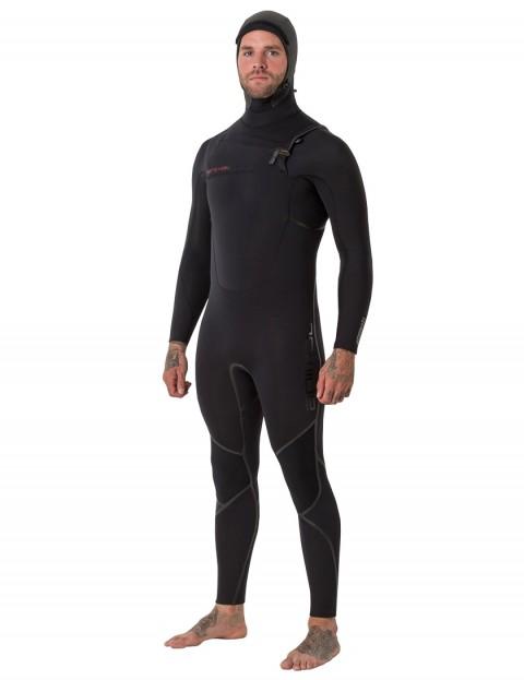 Animal Assassin V2 6/4mm hooded wetsuit 2019 - Black