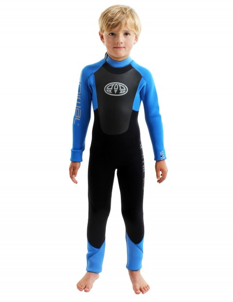 Animal Boys Lava Back Zip 5/4/3mm Wetsuit 2018 - Sea Blue