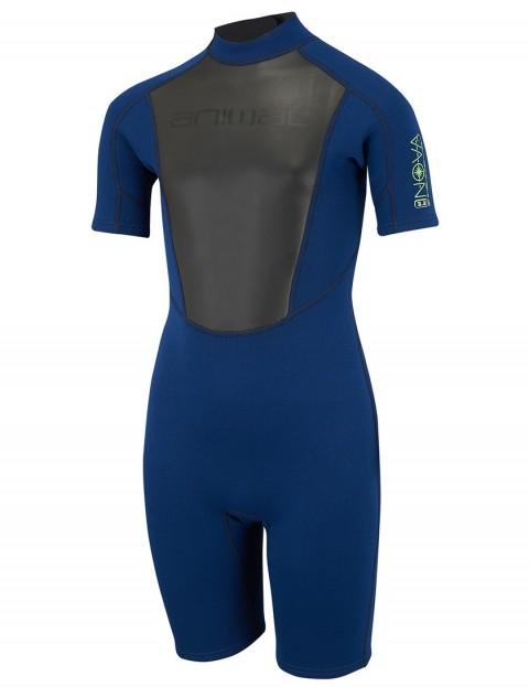 Animal Boys Nova 3/2mm Shorty wetsuit 2018 - Dark Navy