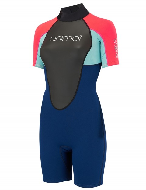 Animal Ladies Nova 3/2mm Shorty wetsuit 2018 - Dark Navy